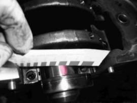Messstreifen 0,018 - 0,045mm - Bild vergrößern